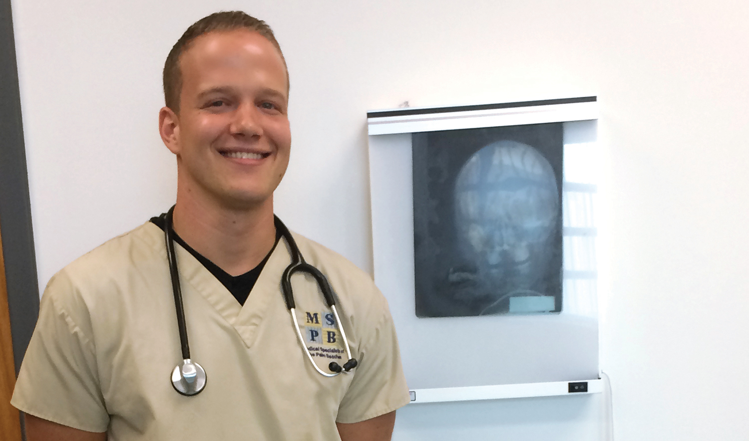 """With him being a doctor, he taught us more than we actually even needed to know, which has really helped me in my work setting. They see that I have knowledge beyond what I should have, and they value me more as an employee."" Curtis Ober, PBSC alumnus"