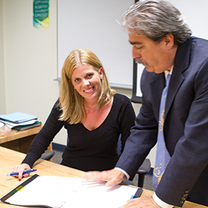 """""""You have all these teachers, and there are some you remember and some that you don't...he's definitely one you are going to remember."""" Arlena Kindt, PBSC alumna"""