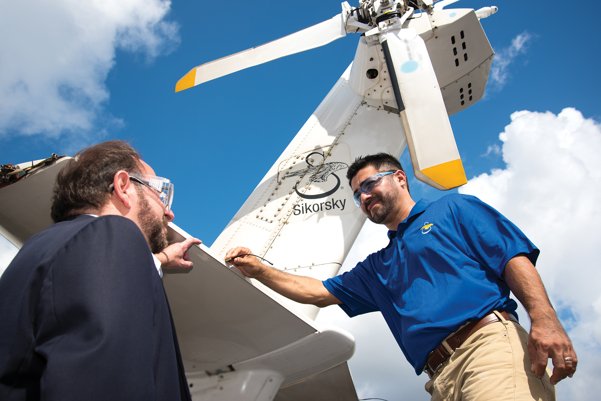 """""""The student wins and Sikorsky Aircraft wins – it's the perfect relationship."""" – John Fischetti"""
