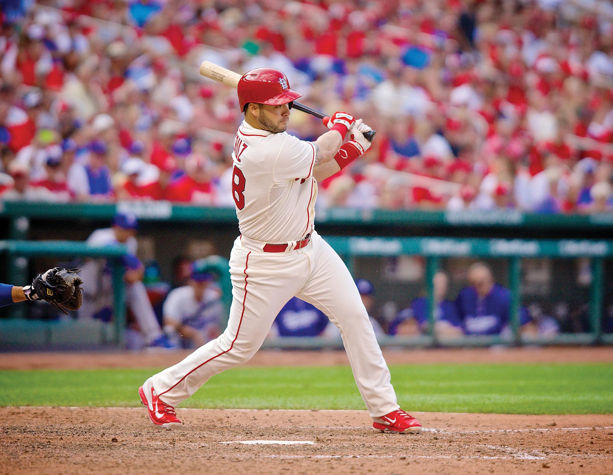 Tony Cruz at bat