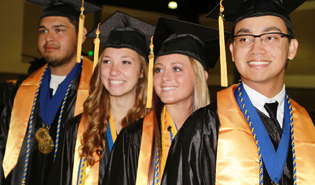2014 Spring graduation