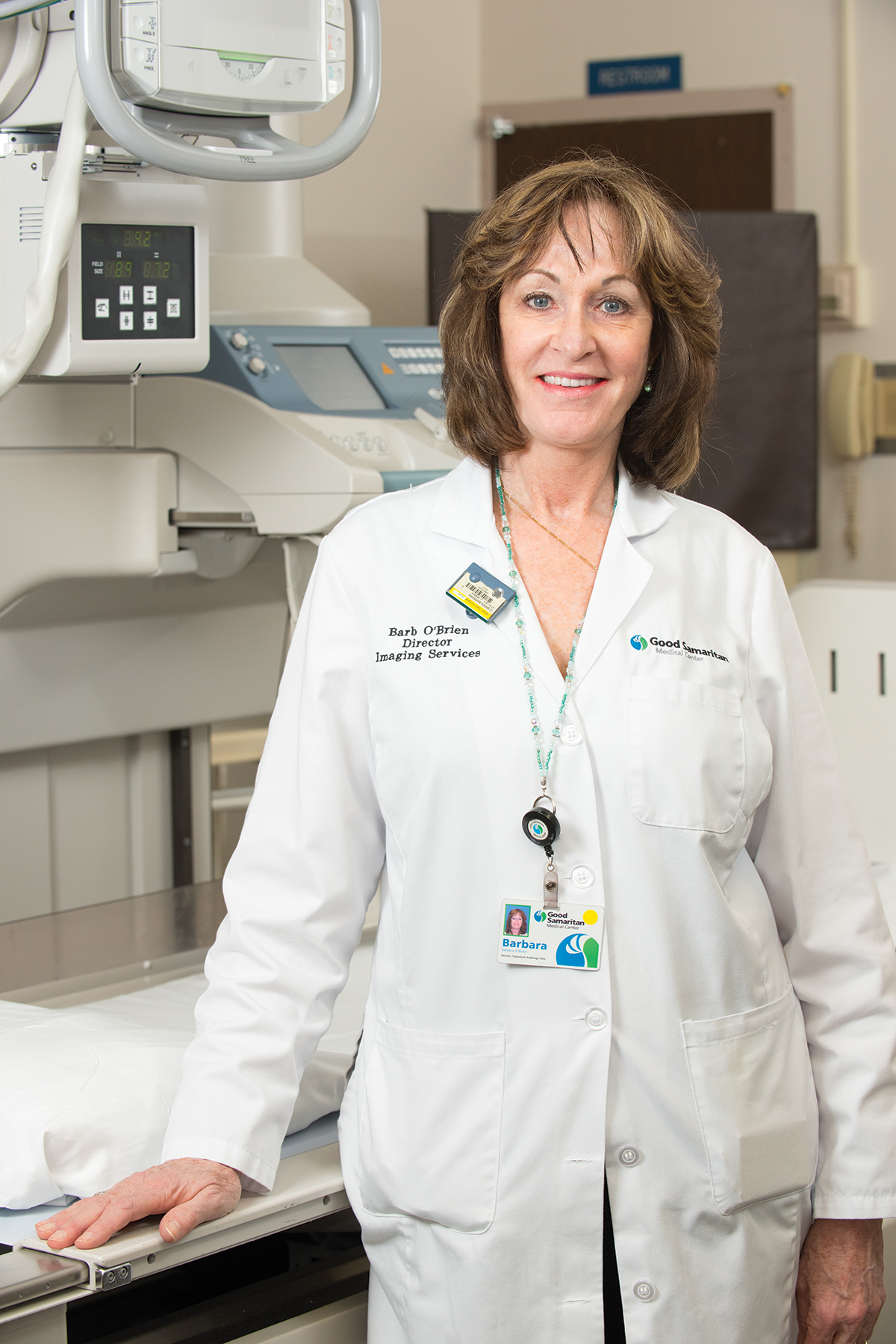 Barbara O'Brien, director of imaging services at Good Samaritan Hospital