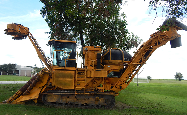 Heavy Equipment Harvester