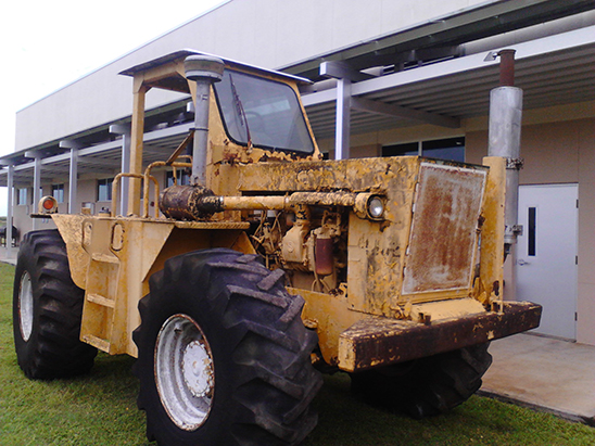 Heavy Equipment Mechanics Tractor