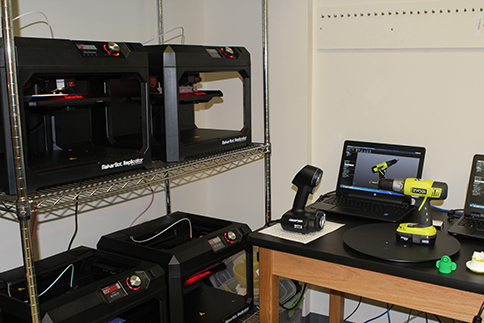 3-D printers and scanner