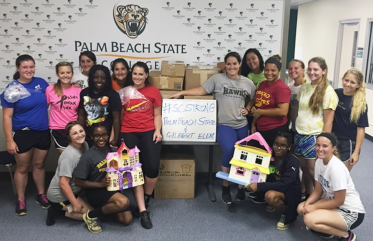 clothing drive-softball