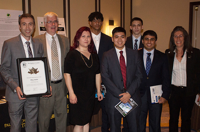 Palm Beach State College at the 2016 National Engineers Week Honors and Awards Banquet.