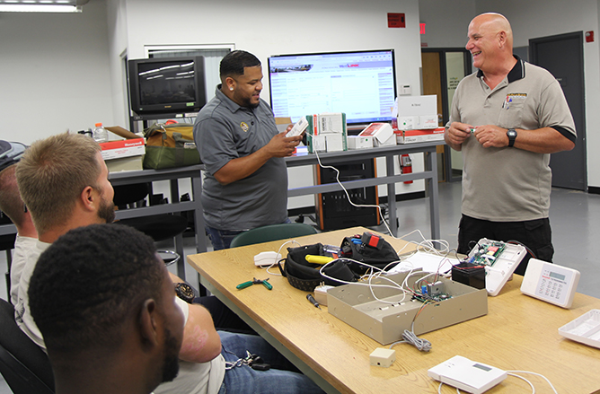 Security & Automation System Technician Class