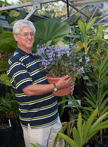 Dr. George Rogers, professor and chair of Environmental Horticulture department