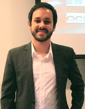 Pedro Borba, Chancellor's Clark Maxwell Scholar Student of the Month