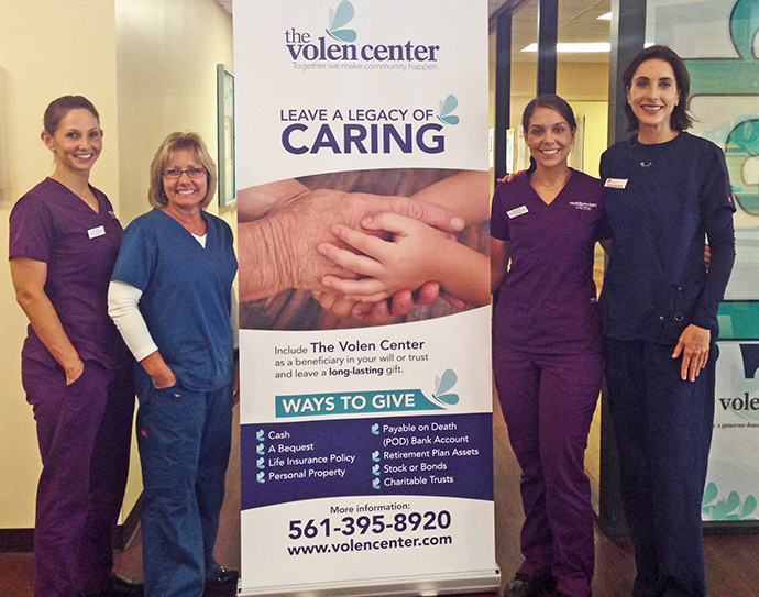 Dental Hygiene team at Mae Volen Senior Center