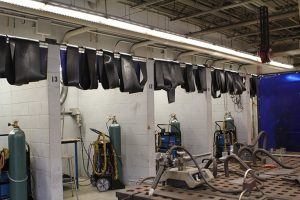Welding Booths at PBSC