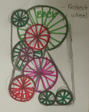 Kinetic Art Project concept drawing