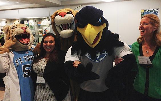 Mascots at LSSF 2017
