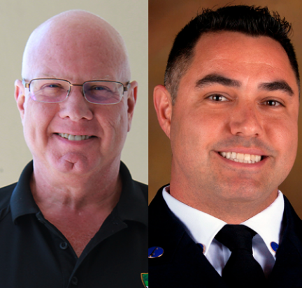Arbeit, Cardoso win county fire-rescue awards
