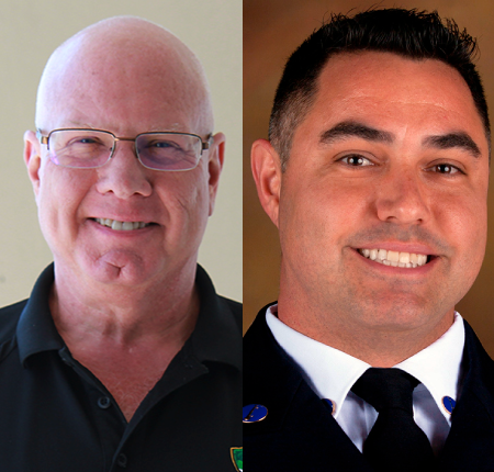 Arbeit, Cardoso win county fire-rescue awards