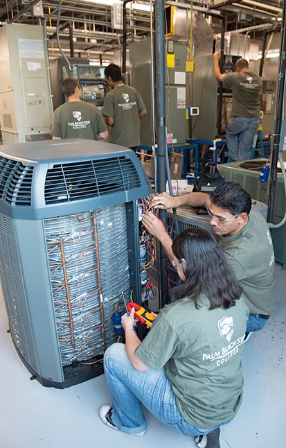 HVAC-R program lab