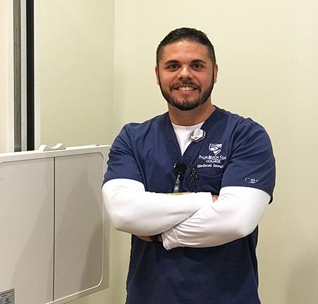 Eric Godinez, Radiography student, chosen for national leadership program.