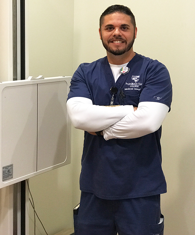 Eric Godinez, Radiography student