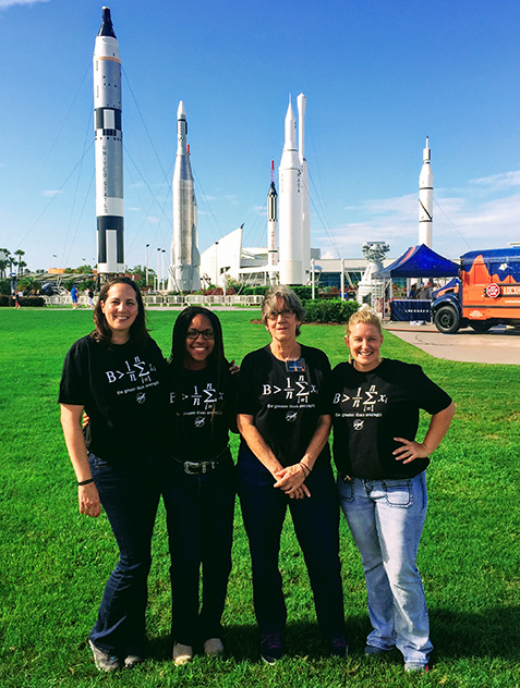 PBSC Educator Preparation Institute attends NASA workshop.