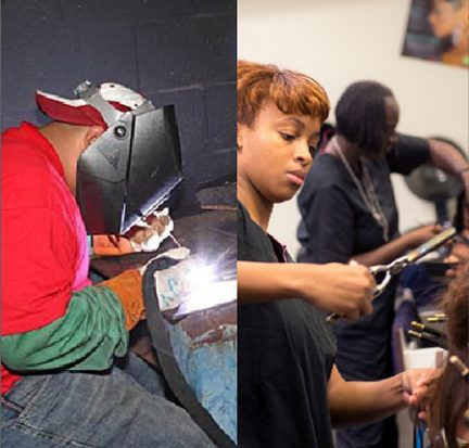 Welding and Cosmetology programs on Belle Glade campus