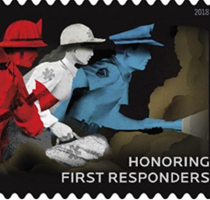 First Responder Stamp