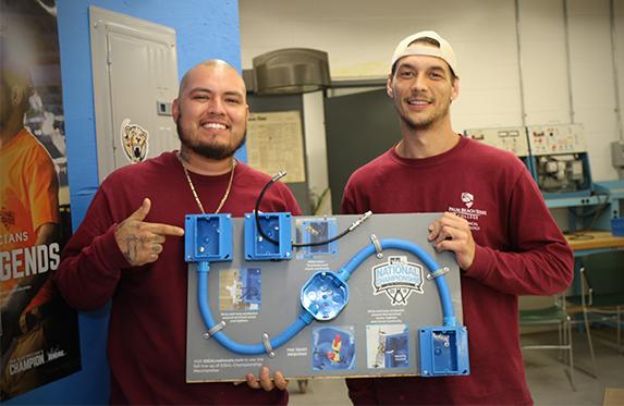 Agapito Arvizu, Jr. and Kyle Brown