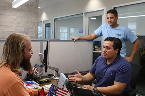 Student Veterans at PBSC Veterans Success Center
