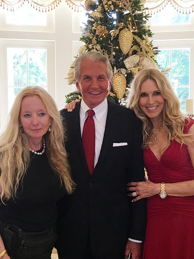 Ann Deborah Fishman, George Hamilton and Alana Stewart